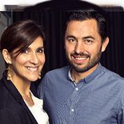 Emilie Boudot et Benoit Riffault