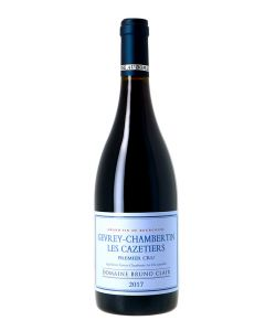 Gevrey-Chambertin Domaine Bruno Clair Les Cazetiers 2017 Rouge 0,75