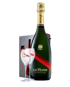 G.H Mumm, Cordon Rouge + 2 copas