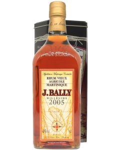 J.Bally, Rhum Vieux 2005