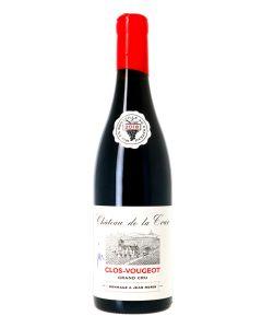 Clos Vougeot Château de la Tour Hommage à Jean Morin, vieilles vignes 2018 Rouge 0,75