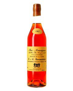 Armagnac  Bas-Armagnac Domaine de Lacourtoisie  EO 1987 0,7 ALC 40