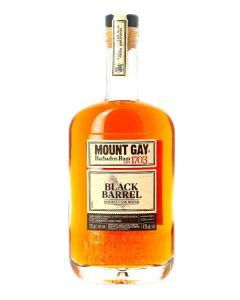 Mount Gay, Rhum Ambré, Black Barrel, Double Cask Blend, 43%