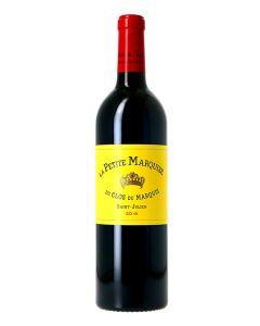 La Petite Marquise, 2nd vin du Clos du Marquis, 2018