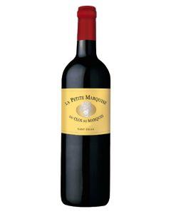 La Petite Marquise, 2nd vin du Clos du Marquis, 2017