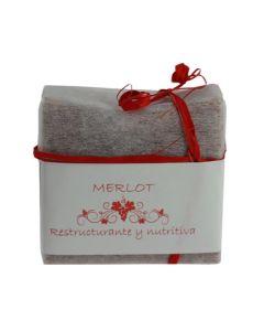 Jabón de Vino, Merlot (Reestructurante, Nutritiva)