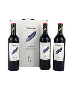 Cofre 3 botellas Cepa Gavilán Crianza 2018